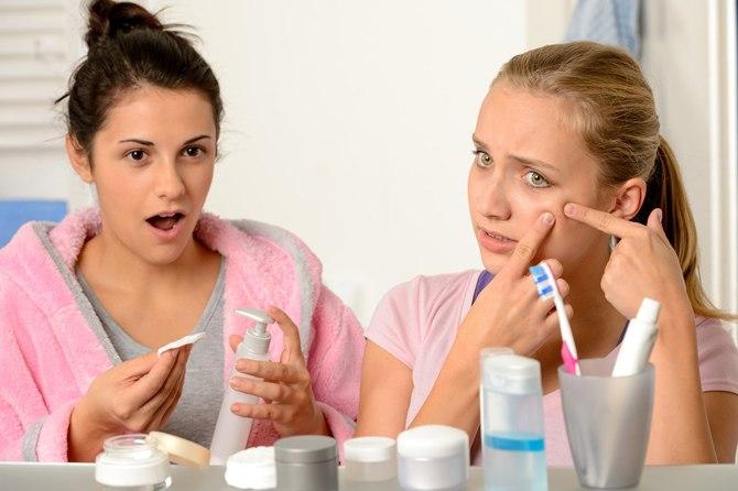 hormonbalance og uren hud